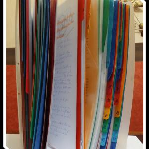 Classeur Témoignages manuscrits, ressaisis et anonymisés 2003-2018